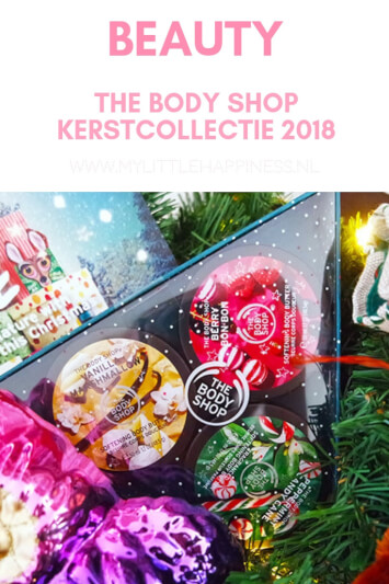 The Body Shop Kerstcollectie 2018
