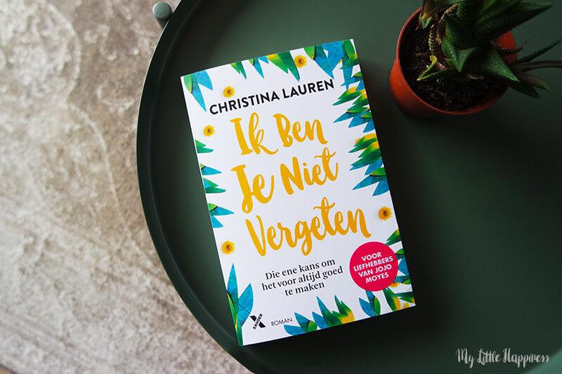 Ik ben je niet vergeten van Christina Lauren | Boek review & winactie