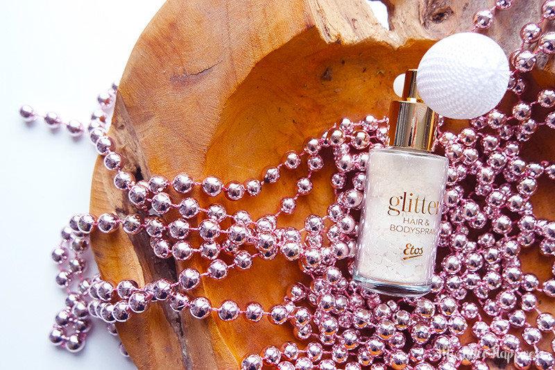 Etos kerst glitter body puff