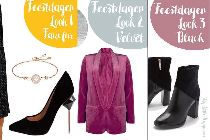 Drie inspiratie outfits voor tijdens de feestdagen