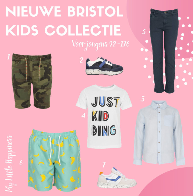Bristol nieuwe kids collectie voor jongens