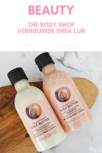 The Body Shop vernieuwde Shea Lijn - My Little Happiness