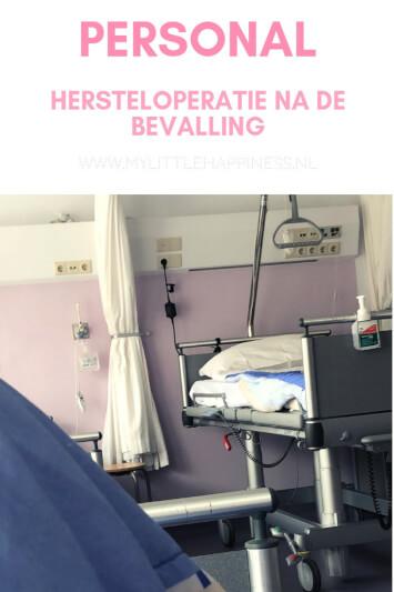 Hersteloperatie na de bevalling