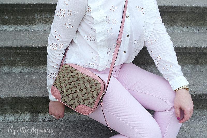 Gucci Bree roze tas