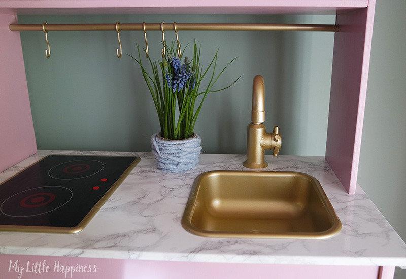 Ikea Duktig keukentje gouden kraan