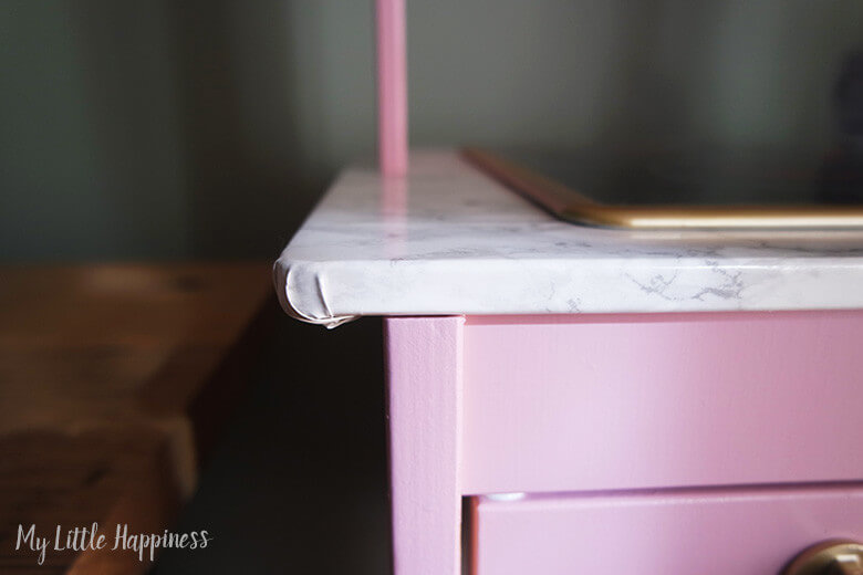 Ikea Duktig keukentje marmeren blad