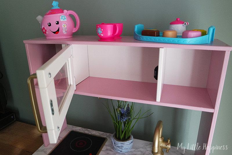 Ikea Duktig opgeknapt keukentje voor een meisje