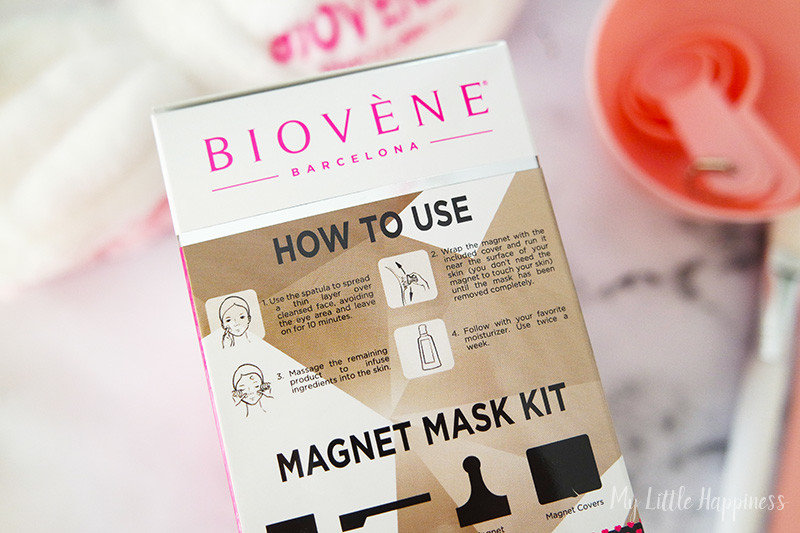 Biovène houtskool magnetisch masker verpakking