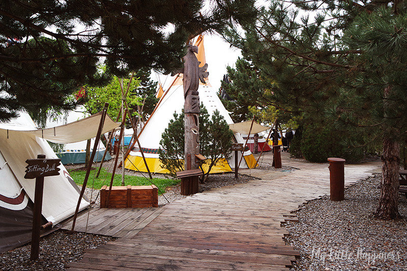 Camp Resort Tipi tenten