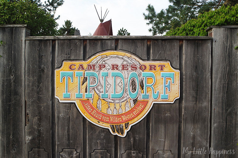 Camp Resort Europa-Park Tipidorf vuurkorf