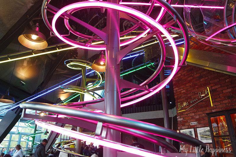 Foodloop achtbaan restaurant Europa-Park
