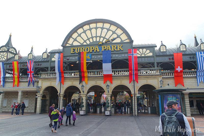Europa-Park bezoeken met een dreumes