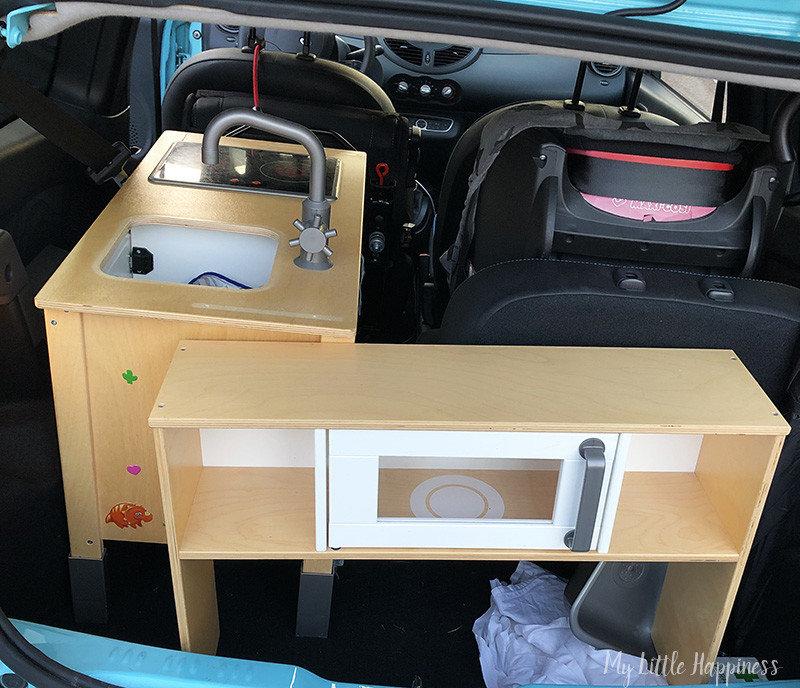 Ikea duktig in Renault Twingo