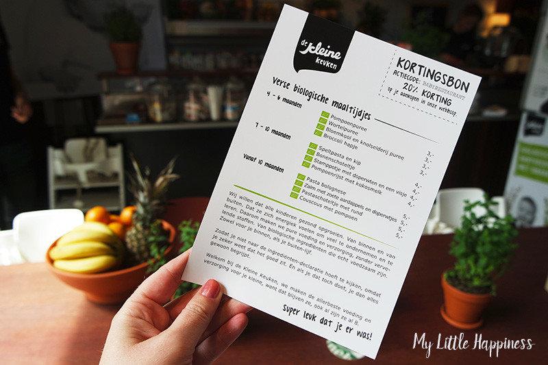 Babyrestaurant Foodhallen Rotterdam menukaart