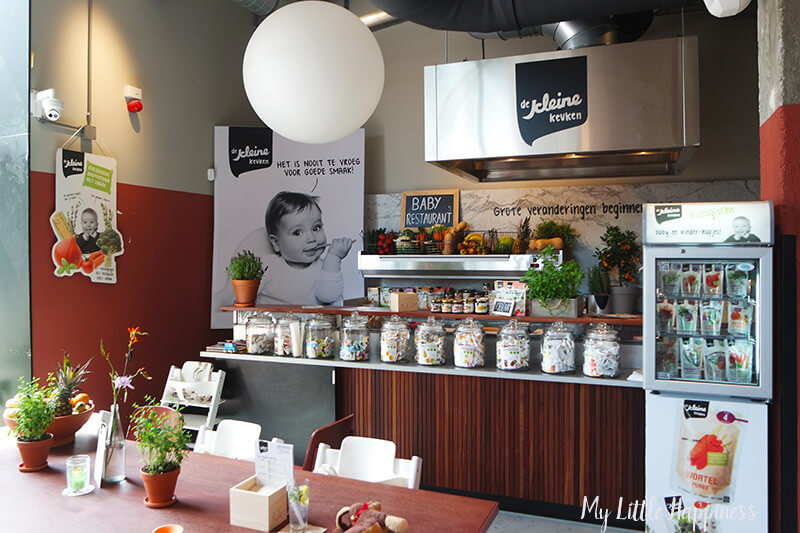 Pop-up babyrestaurant in de Foodhallen Rotterdam