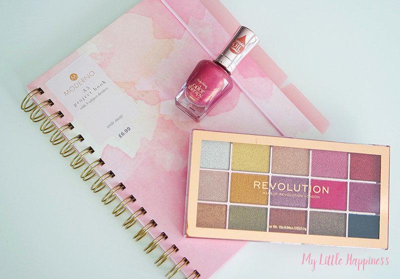 Londen Shoplog notitieboek en make-up