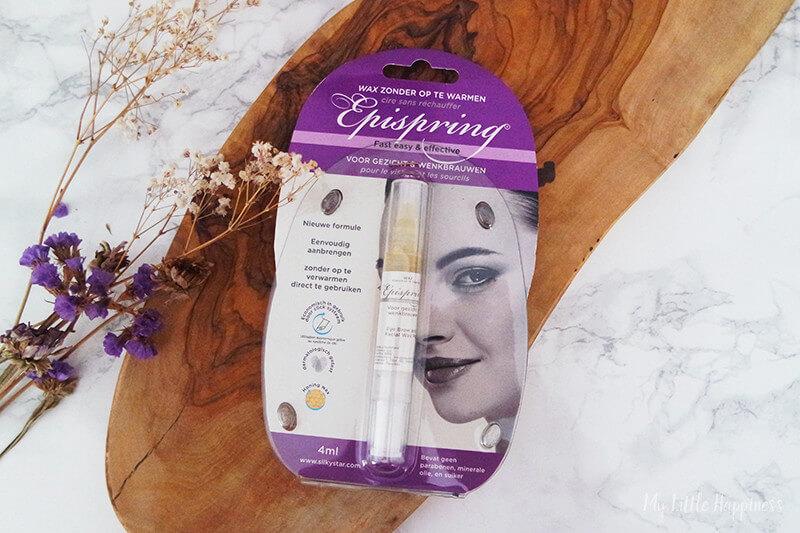 Epispring wax voor gezicht en wenkbrauwen