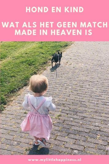 Hond en kind wat als