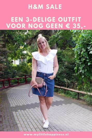 H&M Sale 3-delige outfit voor nog geen 35 euro