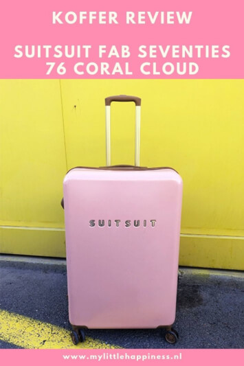 SuitSuit Koffer review Fab Seventies 76 Coral Cloud