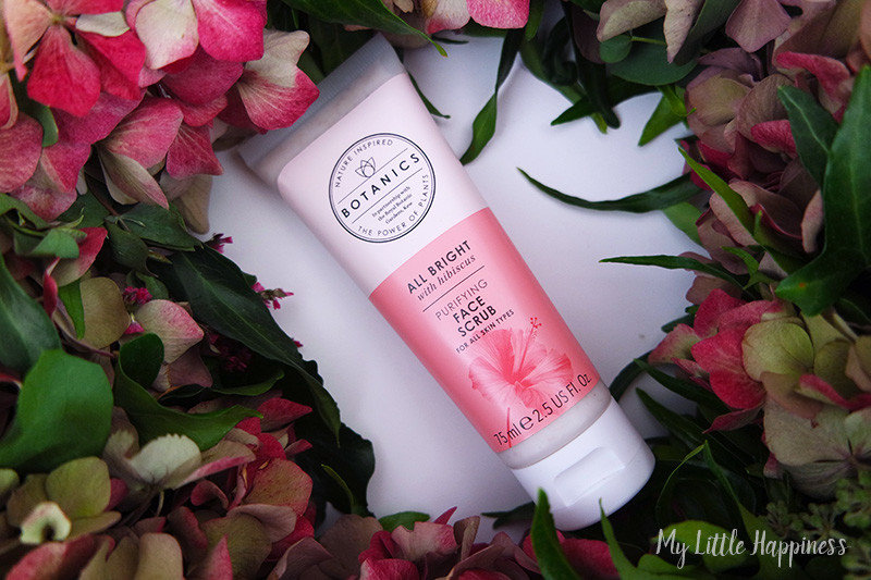 Botanics All Bright face scrub