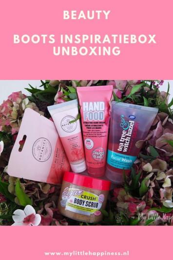 Boots inspiratiebox unboxing