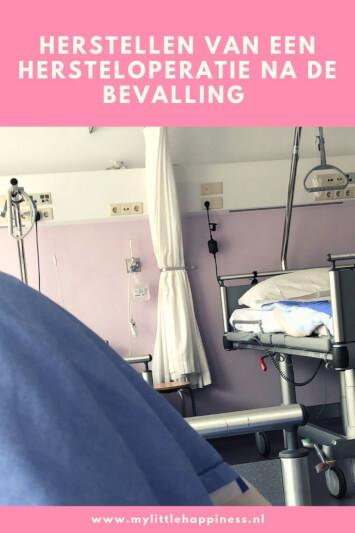 Herstellen van een hersteloperatie na de bevalling