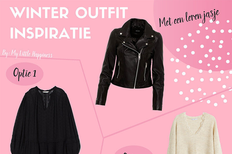 Outfit inspiratie | Twee outfits met een leren jasje