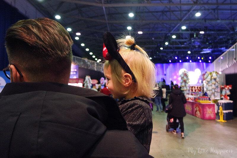 Disney On Ice met kindje van 1 jaar