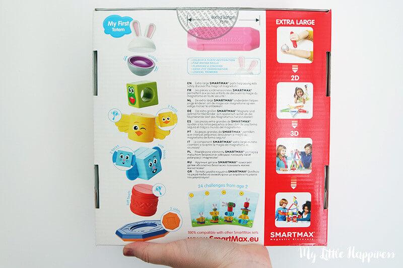 SmartMax My First Totem achterkant verpakking