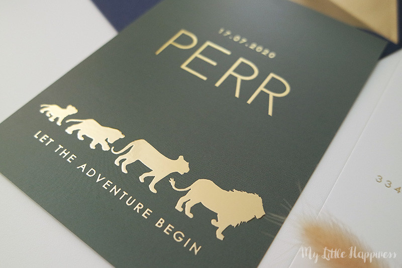 Het geboortekaartje van Perr