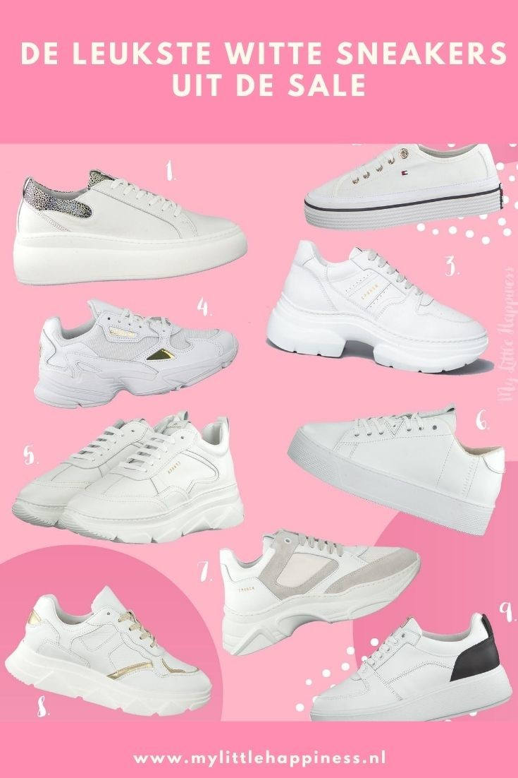 Witte sneakers sale