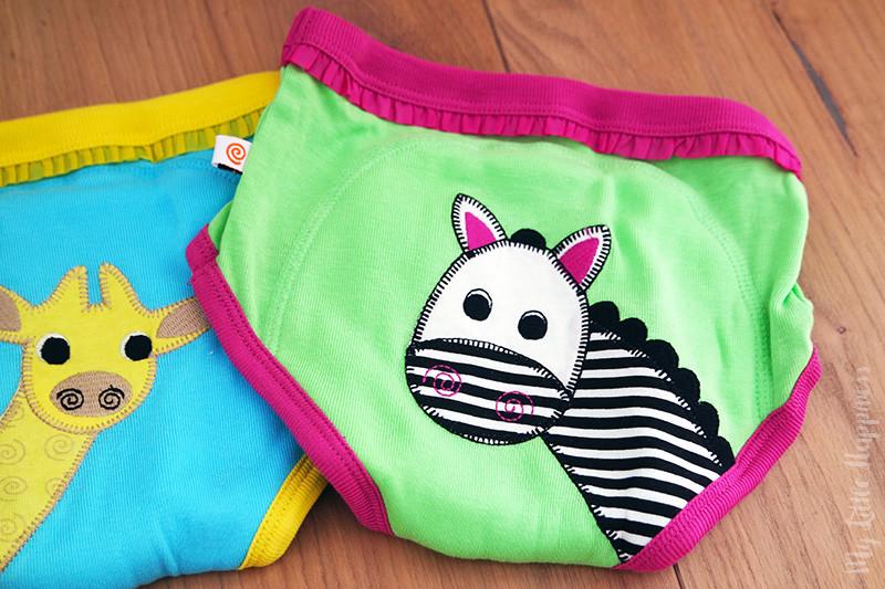 oefenonderbroek zebra