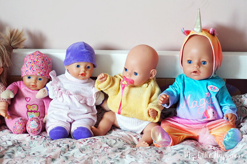 Baby Born poppen van een grote Baby Born fan
