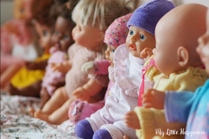 Mijn dochter en haar Baby Born poppen verslaving