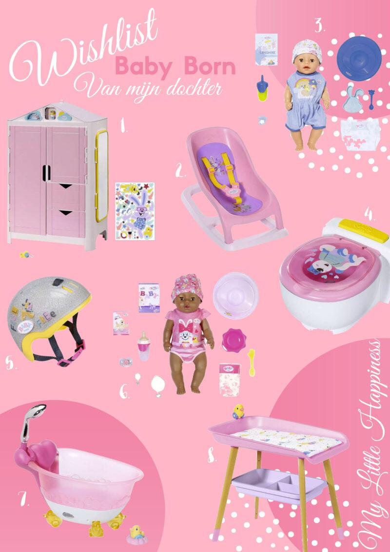 Baby Born Wishlist van mijn dochter