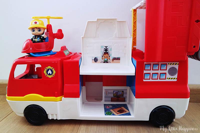 Vrolijke Vriendjes 2 in 1 brandweerwagen
